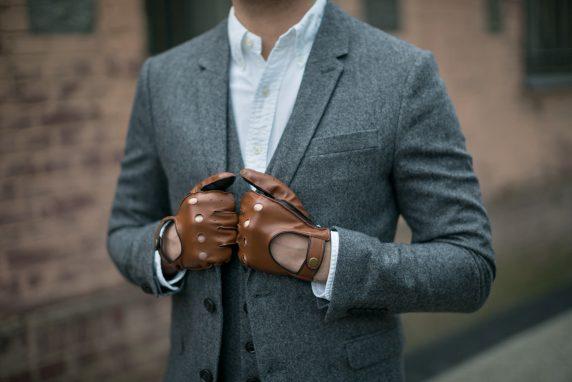 Najpiękniejsze męskie rękawiczki ze skóry